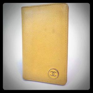 AUTHENTIC CHANEL COCO MARK CARD CASE